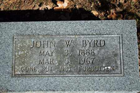 BYRD, JOHN W. - Searcy County, Arkansas | JOHN W. BYRD - Arkansas Gravestone Photos