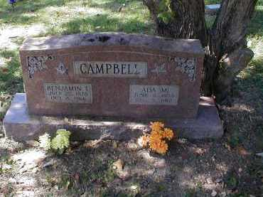 CAMPBELL, BENJAMIN - Searcy County, Arkansas | BENJAMIN CAMPBELL - Arkansas Gravestone Photos