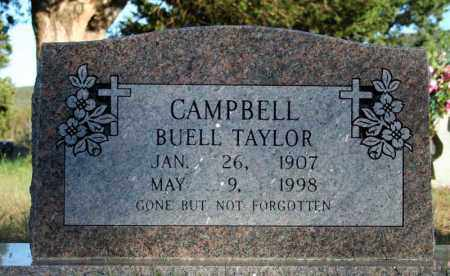 CAMPBELL, BUELL TAYLOR - Searcy County, Arkansas | BUELL TAYLOR CAMPBELL - Arkansas Gravestone Photos