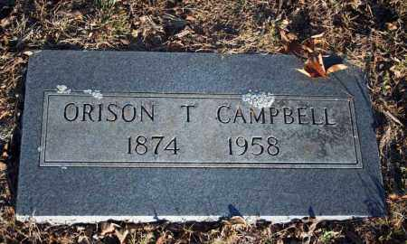 CAMPBELL, ORISON T. - Searcy County, Arkansas | ORISON T. CAMPBELL - Arkansas Gravestone Photos