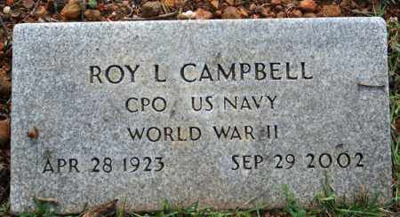 CAMPBELL  (VETERAN WWII), ROY L. - Searcy County, Arkansas | ROY L. CAMPBELL  (VETERAN WWII) - Arkansas Gravestone Photos
