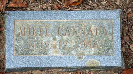 CANNADA, MIKEL - Searcy County, Arkansas | MIKEL CANNADA - Arkansas Gravestone Photos