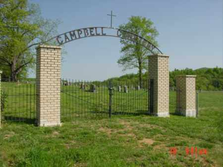 *CAMPBELL CEMETERY GATE,  - Searcy County, Arkansas |  *CAMPBELL CEMETERY GATE - Arkansas Gravestone Photos