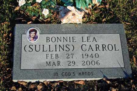 SULLINS CARROL, BONNIE LEA - Searcy County, Arkansas | BONNIE LEA SULLINS CARROL - Arkansas Gravestone Photos