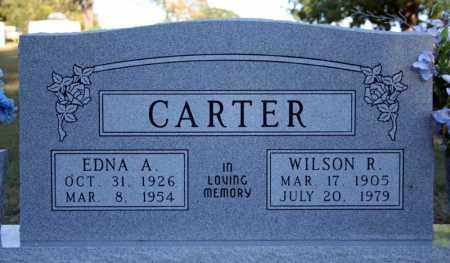 CARTER, WILSON R. - Searcy County, Arkansas | WILSON R. CARTER - Arkansas Gravestone Photos