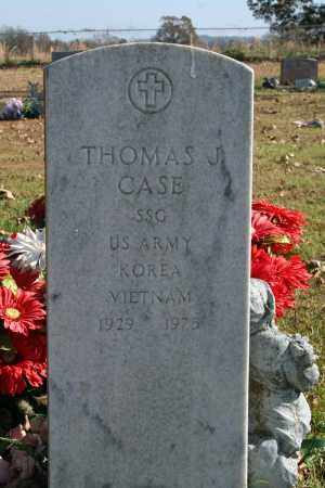 CASE (VETERAN 2 WARS), THOMAS - Searcy County, Arkansas | THOMAS CASE (VETERAN 2 WARS) - Arkansas Gravestone Photos