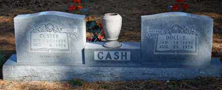 CASH, CUSTER - Searcy County, Arkansas | CUSTER CASH - Arkansas Gravestone Photos