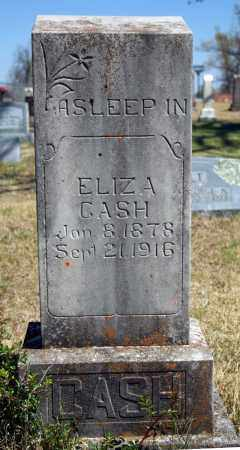 CASH, ELIZA - Searcy County, Arkansas | ELIZA CASH - Arkansas Gravestone Photos