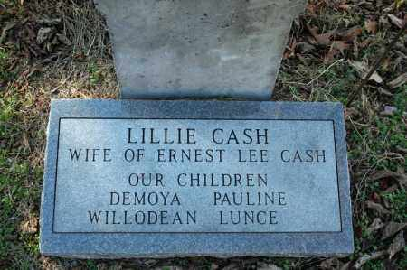 SHERRILL CASH, LILLIE #2 - Searcy County, Arkansas | LILLIE #2 SHERRILL CASH - Arkansas Gravestone Photos
