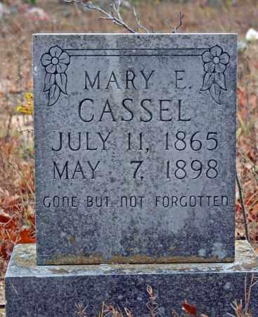 CASSEL, MARY E. - Searcy County, Arkansas | MARY E. CASSEL - Arkansas Gravestone Photos