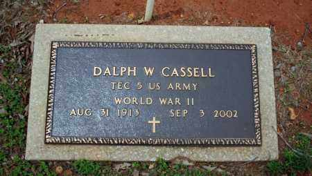 CASSELL (VETERAN WWII), DALPH W - Searcy County, Arkansas | DALPH W CASSELL (VETERAN WWII) - Arkansas Gravestone Photos