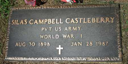 CASTLEBERRY  (VETERAN WWI), SILAS CAMPBELL - Searcy County, Arkansas | SILAS CAMPBELL CASTLEBERRY  (VETERAN WWI) - Arkansas Gravestone Photos