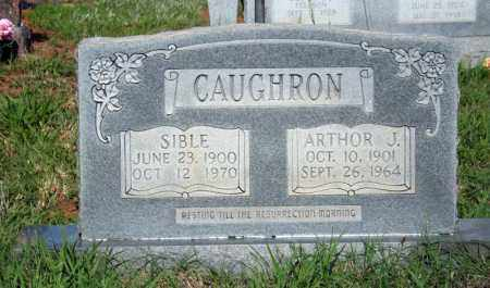 CAUGHRON, SIBLE - Searcy County, Arkansas | SIBLE CAUGHRON - Arkansas Gravestone Photos