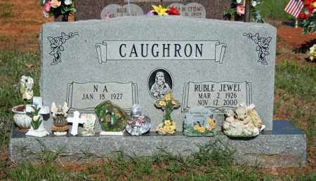 CAUGHRON, RUBLE JEWEL - Searcy County, Arkansas | RUBLE JEWEL CAUGHRON - Arkansas Gravestone Photos