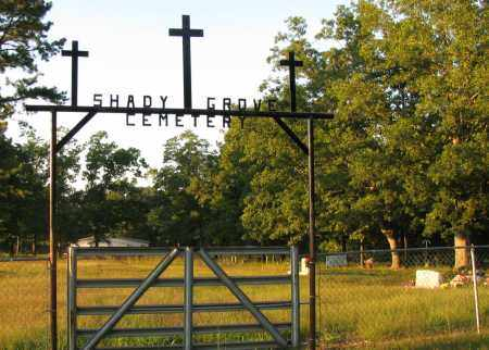 *SHADY GROVE CEMETERY GATE,  - Searcy County, Arkansas |  *SHADY GROVE CEMETERY GATE - Arkansas Gravestone Photos
