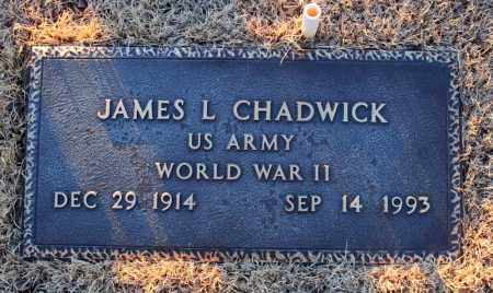 CHADWICK (VETERAN WWII), JAMES LAUTHER - Searcy County, Arkansas | JAMES LAUTHER CHADWICK (VETERAN WWII) - Arkansas Gravestone Photos