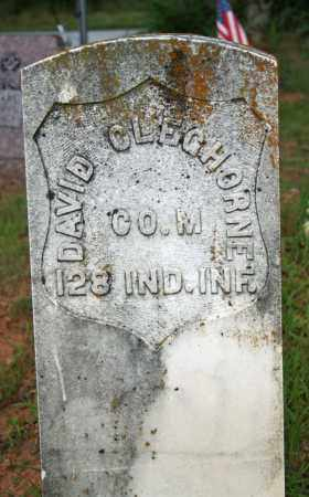 CLEGHORNE  (VETERAN UNION), DAVID - Searcy County, Arkansas | DAVID CLEGHORNE  (VETERAN UNION) - Arkansas Gravestone Photos