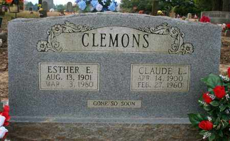 CLEMONS, CLAUDE L. - Searcy County, Arkansas | CLAUDE L. CLEMONS - Arkansas Gravestone Photos