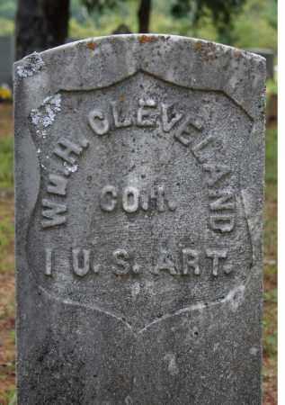 CLEVELAND  (VETERAN UNION), WILLIAM H. - Searcy County, Arkansas | WILLIAM H. CLEVELAND  (VETERAN UNION) - Arkansas Gravestone Photos