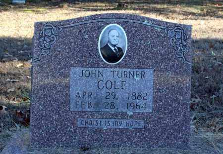 COLE, JOHN TURNER - Searcy County, Arkansas | JOHN TURNER COLE - Arkansas Gravestone Photos