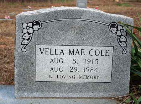 COLE, VELLA MAE - Searcy County, Arkansas | VELLA MAE COLE - Arkansas Gravestone Photos