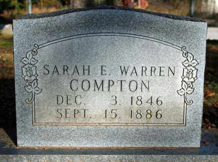 WARREN COMPTON, SARAH E. - Searcy County, Arkansas | SARAH E. WARREN COMPTON - Arkansas Gravestone Photos