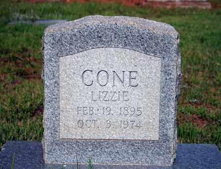 CONE, LIZZIE - Searcy County, Arkansas | LIZZIE CONE - Arkansas Gravestone Photos