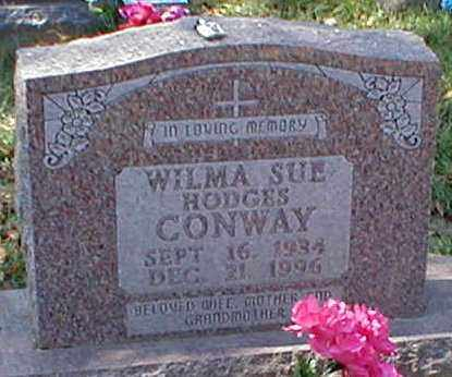 HODGES CONWAY, WILMA SUE - Searcy County, Arkansas | WILMA SUE HODGES CONWAY - Arkansas Gravestone Photos