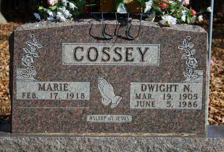 COSSEY, DWIGHT N. - Searcy County, Arkansas | DWIGHT N. COSSEY - Arkansas Gravestone Photos