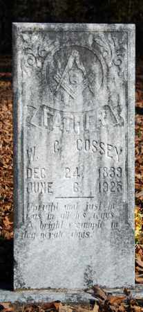 COSSEY, W.G. - Searcy County, Arkansas | W.G. COSSEY - Arkansas Gravestone Photos