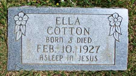 COTTON, ELLA - Searcy County, Arkansas | ELLA COTTON - Arkansas Gravestone Photos