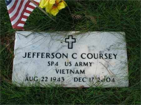 COURSEY (VETERAN VIET), JEFFERSON C - Searcy County, Arkansas | JEFFERSON C COURSEY (VETERAN VIET) - Arkansas Gravestone Photos