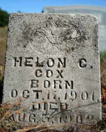 COX, HELON C. - Searcy County, Arkansas | HELON C. COX - Arkansas Gravestone Photos