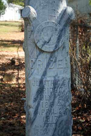 CRIDER, JONATHAN B. - Searcy County, Arkansas | JONATHAN B. CRIDER - Arkansas Gravestone Photos