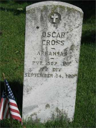 CROSS (VETERAN), OSCAR - Searcy County, Arkansas | OSCAR CROSS (VETERAN) - Arkansas Gravestone Photos