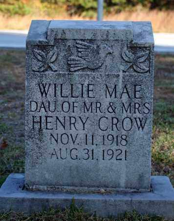 CROW, WILLIE MAE - Searcy County, Arkansas | WILLIE MAE CROW - Arkansas Gravestone Photos