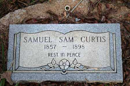CURTIS, SAMUEL - Searcy County, Arkansas | SAMUEL CURTIS - Arkansas Gravestone Photos