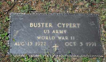 CYPERT (VETERAN WWII), BUSTER - Searcy County, Arkansas | BUSTER CYPERT (VETERAN WWII) - Arkansas Gravestone Photos