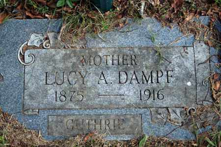 DAMPF, LUCY A. - Searcy County, Arkansas | LUCY A. DAMPF - Arkansas Gravestone Photos