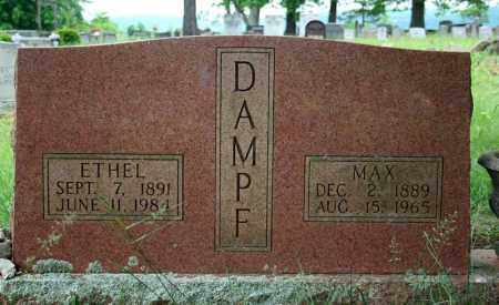 DAMPF, MAX - Searcy County, Arkansas | MAX DAMPF - Arkansas Gravestone Photos
