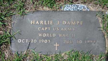 DAMPF (VETERAN WWII), HARLIE J - Searcy County, Arkansas | HARLIE J DAMPF (VETERAN WWII) - Arkansas Gravestone Photos