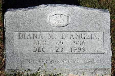 D'ANGELO, DIANA M. - Searcy County, Arkansas | DIANA M. D'ANGELO - Arkansas Gravestone Photos