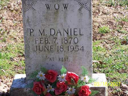 DANIEL, PINKNEY MONROE - Searcy County, Arkansas | PINKNEY MONROE DANIEL - Arkansas Gravestone Photos