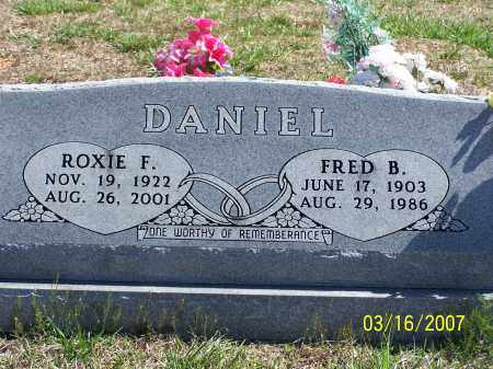 DANIEL, ROXIE F - Searcy County, Arkansas | ROXIE F DANIEL - Arkansas Gravestone Photos