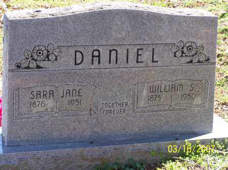 DANIEL, SARA JANE - Searcy County, Arkansas | SARA JANE DANIEL - Arkansas Gravestone Photos