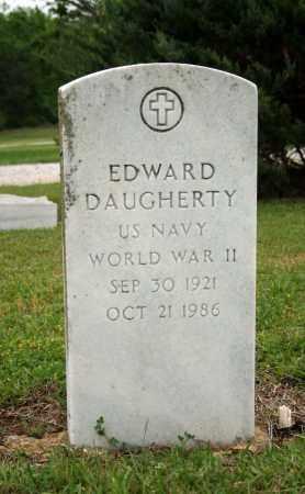 DAUGHERTY (VETERAN WWII), EDWARD - Searcy County, Arkansas | EDWARD DAUGHERTY (VETERAN WWII) - Arkansas Gravestone Photos