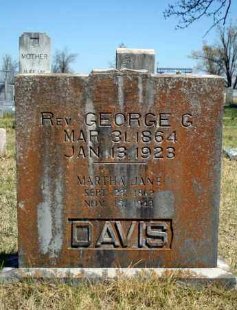 DAVIS, GEORGE G. - Searcy County, Arkansas | GEORGE G. DAVIS - Arkansas Gravestone Photos