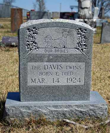 DAVIS, TWINS - Searcy County, Arkansas | TWINS DAVIS - Arkansas Gravestone Photos
