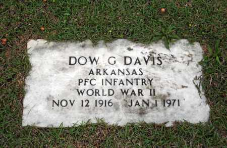 DAVIS (VETERAN WWII), DOW G - Searcy County, Arkansas | DOW G DAVIS (VETERAN WWII) - Arkansas Gravestone Photos