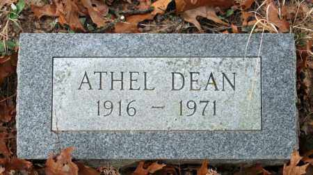 DEAN, ATHEL - Searcy County, Arkansas | ATHEL DEAN - Arkansas Gravestone Photos